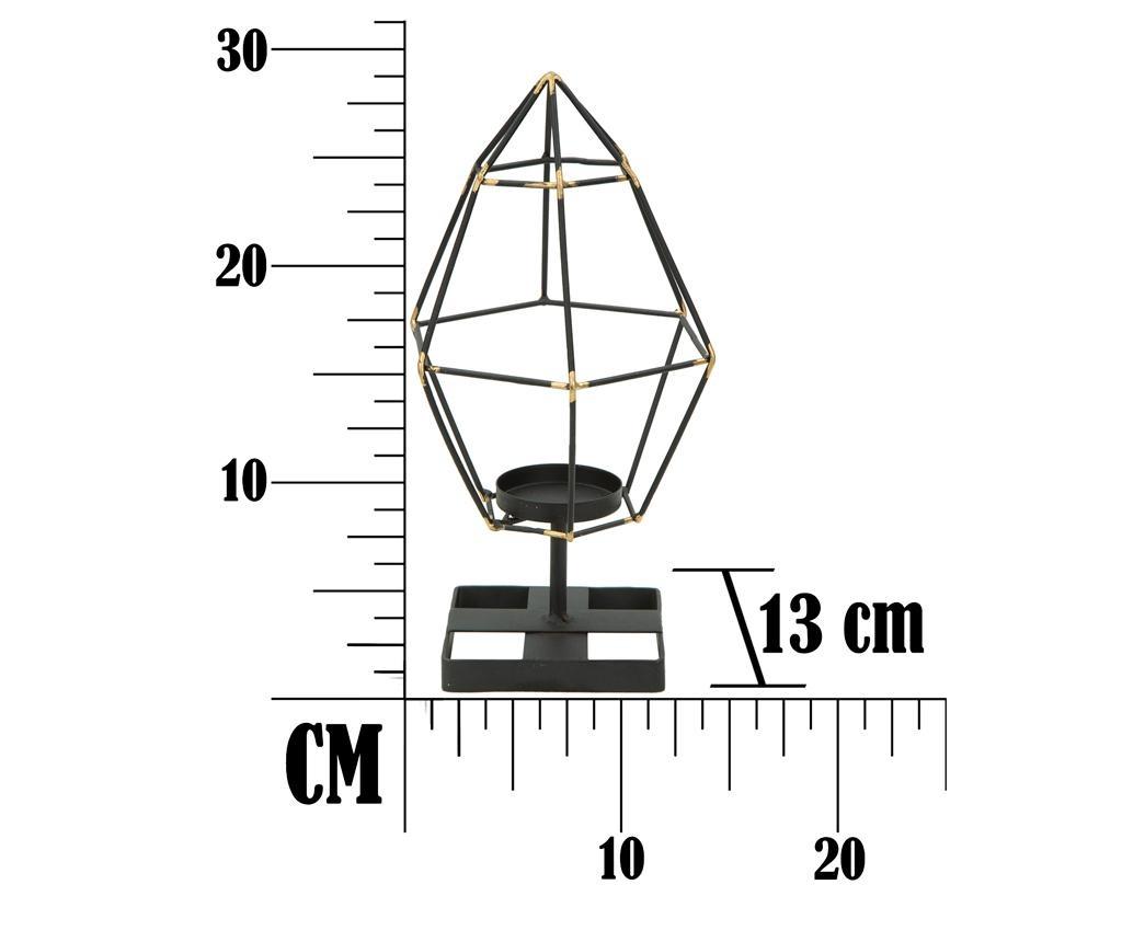 Podstavec na sviečku Bright Piramid