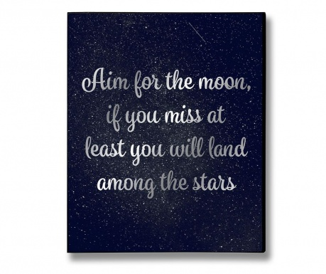 Stenska dekoracija Moon