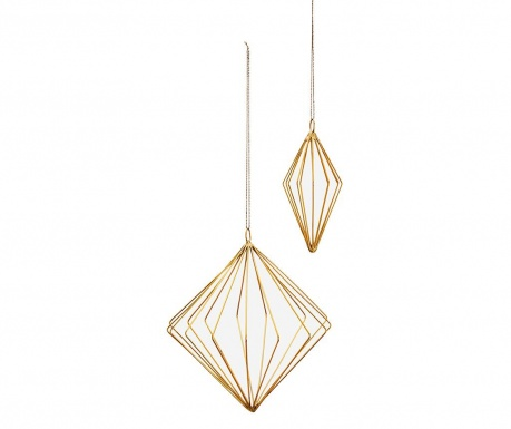 Set 2 visečih dekoracij Oraoma