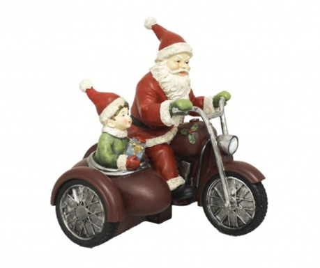 Dekorace Santa on Bike