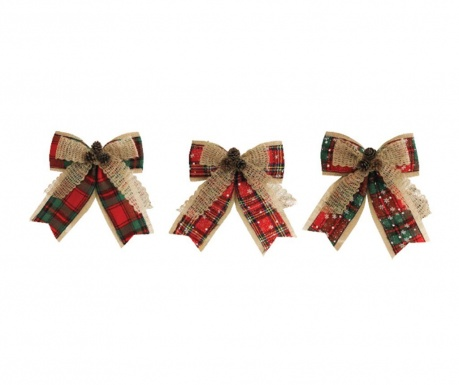 Set 3 decoratiuni Bows