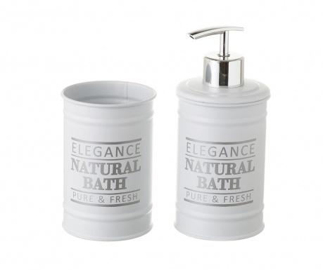 Комплект за баня 2 части Elegance Fresh White