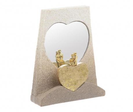 Dekorace se zrcadlem Love Couple