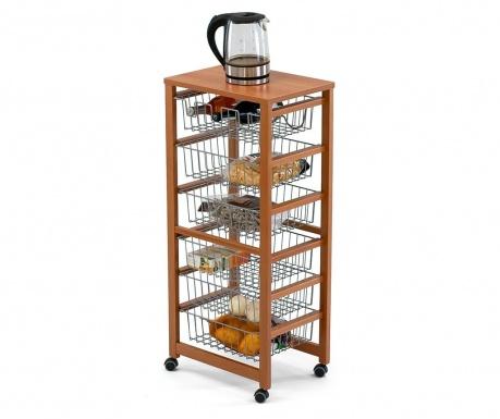 Kuhinjski voziček Gustavo Six