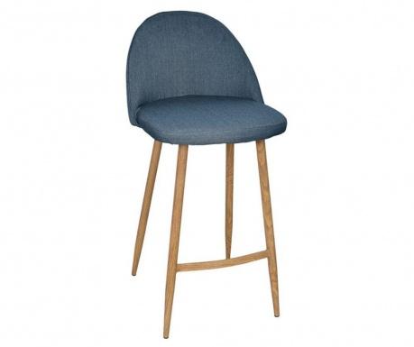 Barski stol Mia Blue