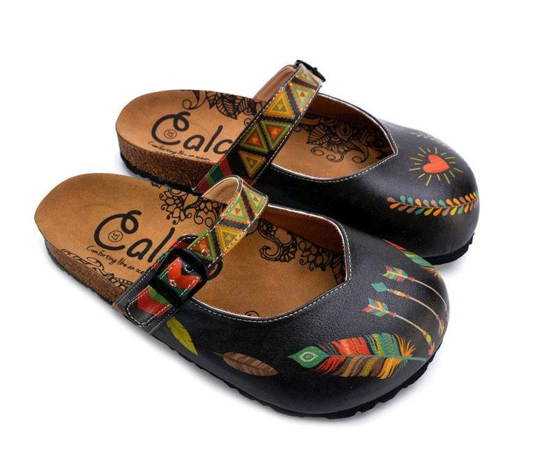 Dámské pantofle Indian Pattern 38