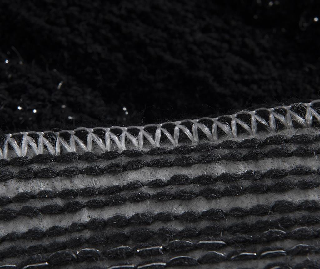 Circles Black 2 db Fürdőszobai szőnyeg