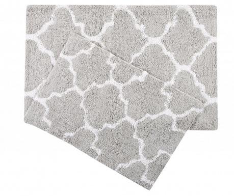 Zestaw 2 dywaników łazienkowych Bali Grey