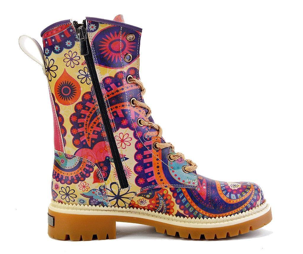 Dámské kotníkové boty Zuri 36
