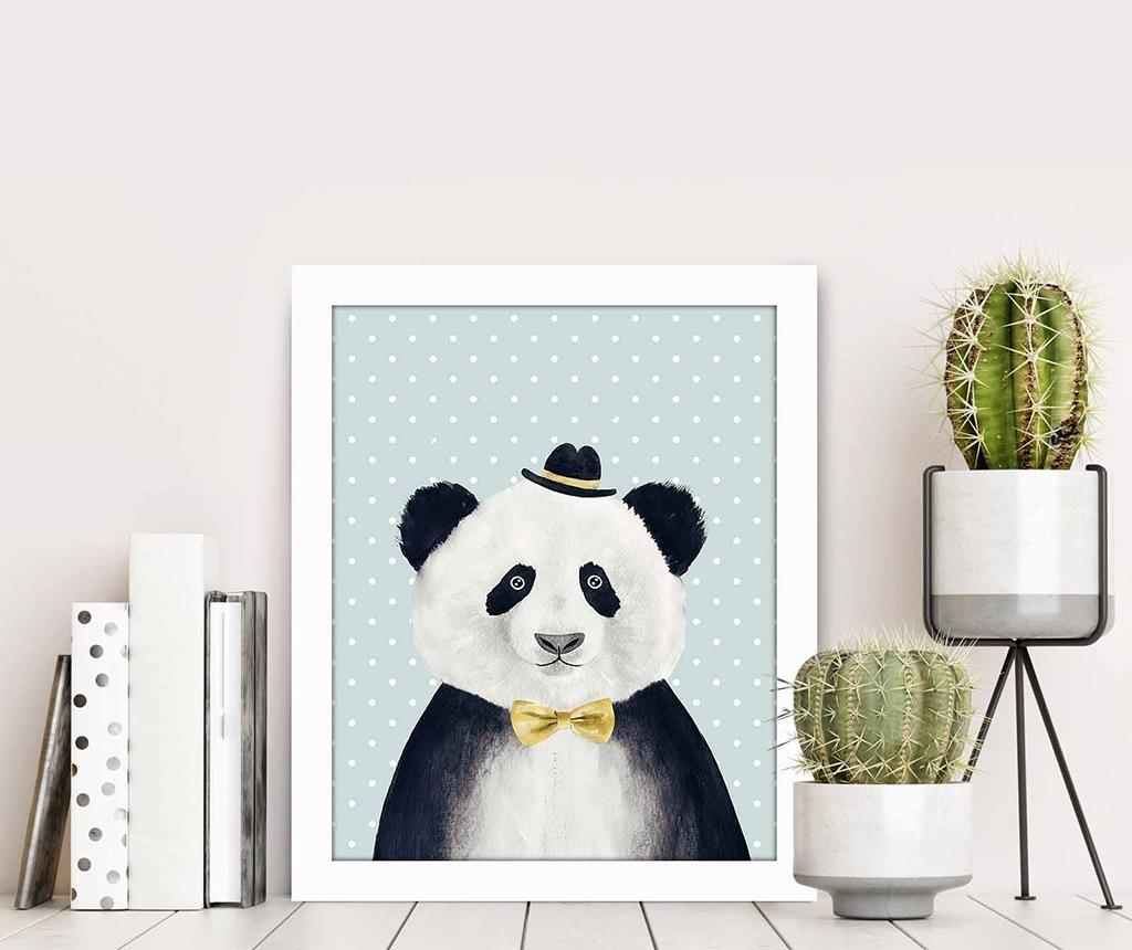 Tablou Panda 23.5x28.5 cm