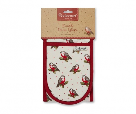 Red Robin Dupla konyhai fogókesztyű