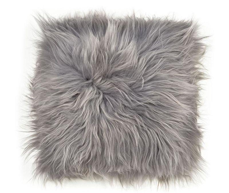 Jastuk za sjedalo Icelandic Long Melange Grey 37x37 cm