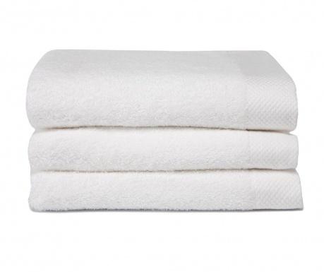 Set 3 kupaonska ručnika Pure White