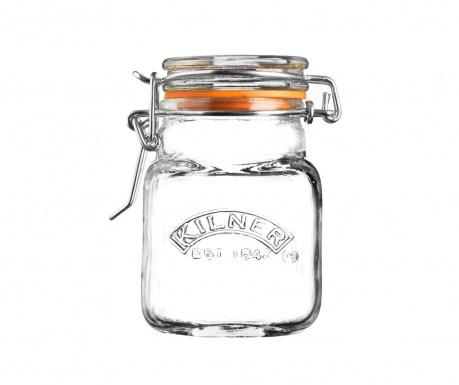 Clear Befőttesüveg  hermetikus  fedővel 70 ml