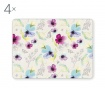 Set 4 individualuri Chatsworth Floral 21.5x29 cm