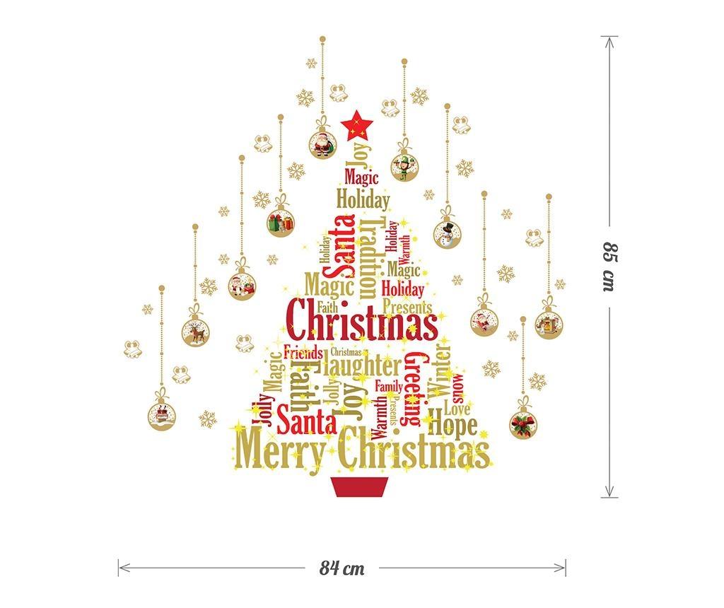 Nalepka, ki sveti v temi Christmas Treat