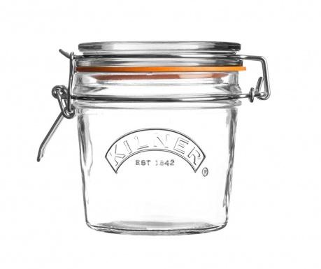 Clip Top Mini Befőttesüveg  hermetikus  fedővel 350 ml