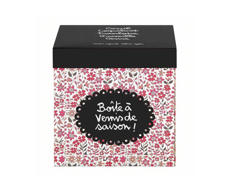Fleurs Vernis Fedeles doboz kiegészítőknek
