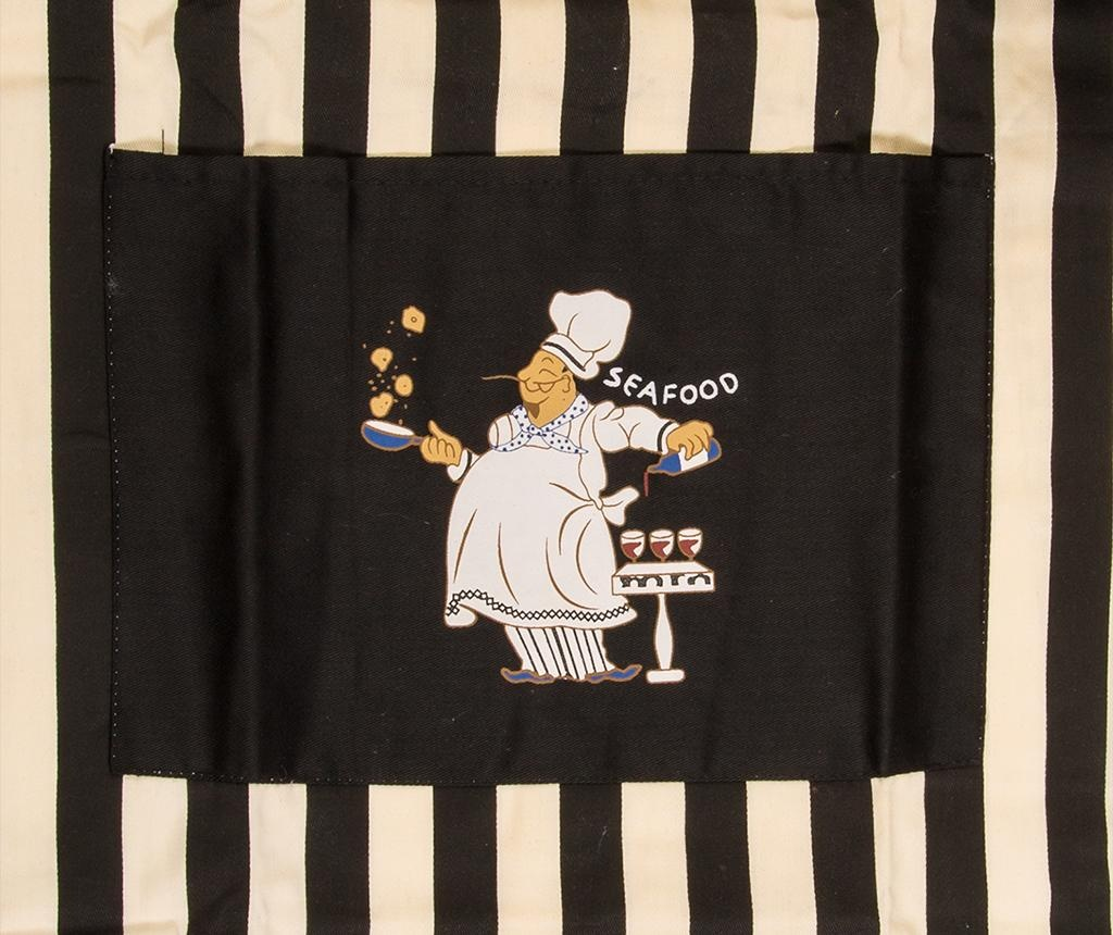 Set textile de bucatarie 4 piese Sea Food Chef