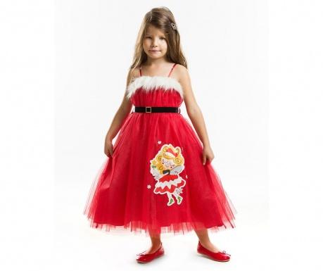 Sukienka dziecięca bez rękawów Tulle Christmas Fairy 6 years