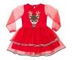 Otroška obleka z dolgimi rokavi Tulle Deer 3 let