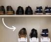 Set 6 držal za čevlje InnovaGoods Rack Adjustable