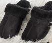 Papuci de casa dama Relax Fur Just Black 36