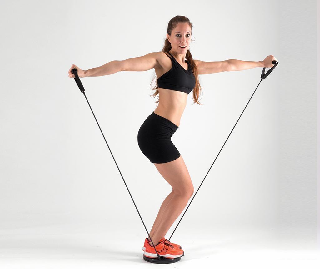 Rastezljiva traka za vježbanje InnovaGoods Cardio Twister