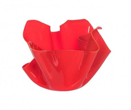 Drappeggi Rosso Díszedény