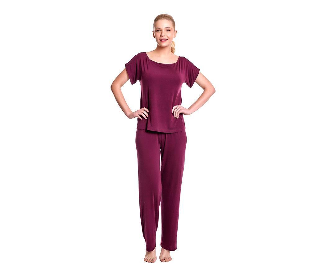 Pijama dama Lillian Red Wine M