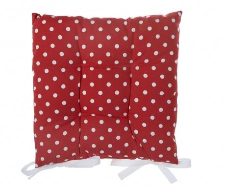 Vankúš na sedenie Red Dots 41x41 cm