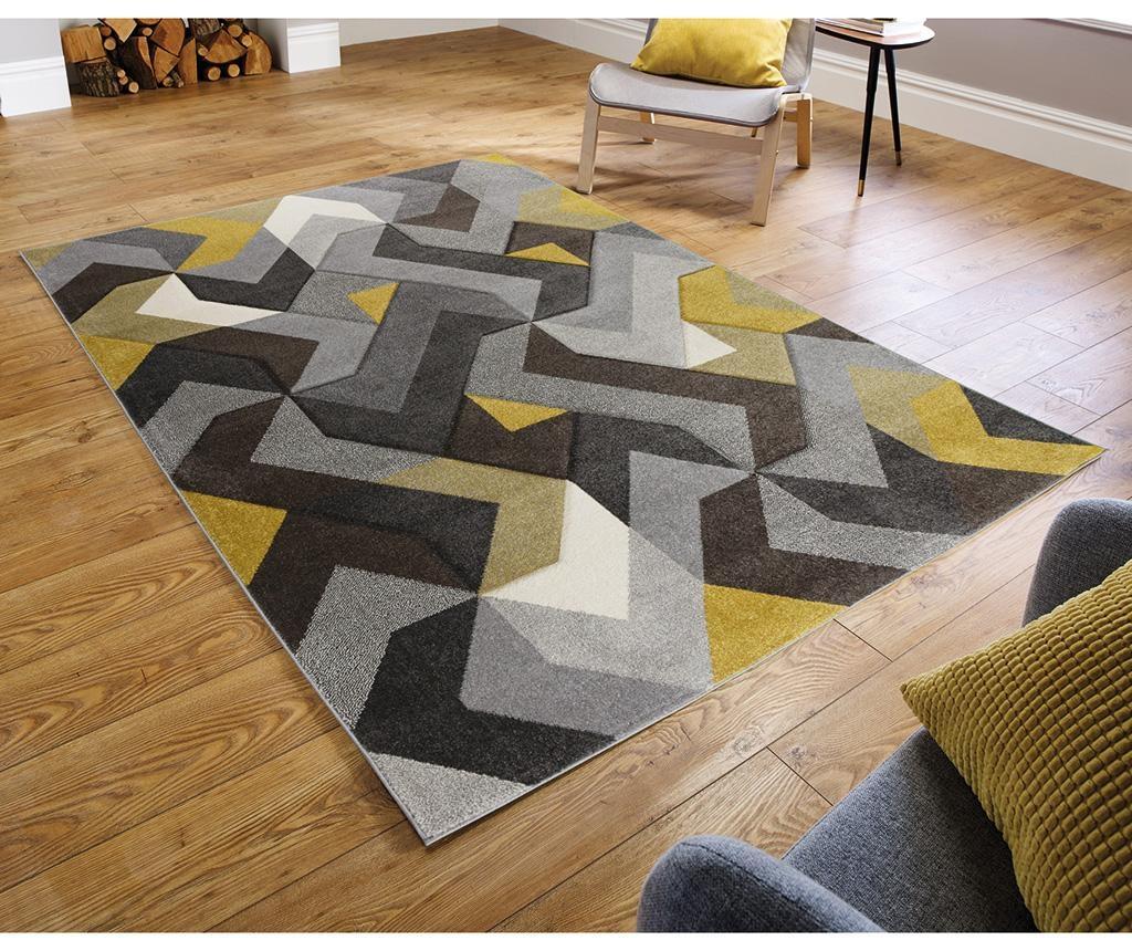Preproga Aurora Grey & Yellow 160x230 cm