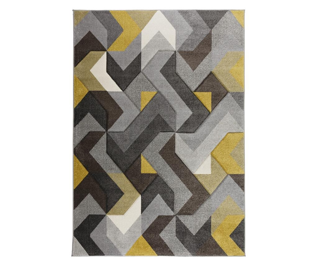 Tepih Aurora Grey & Yellow 160x230 cm