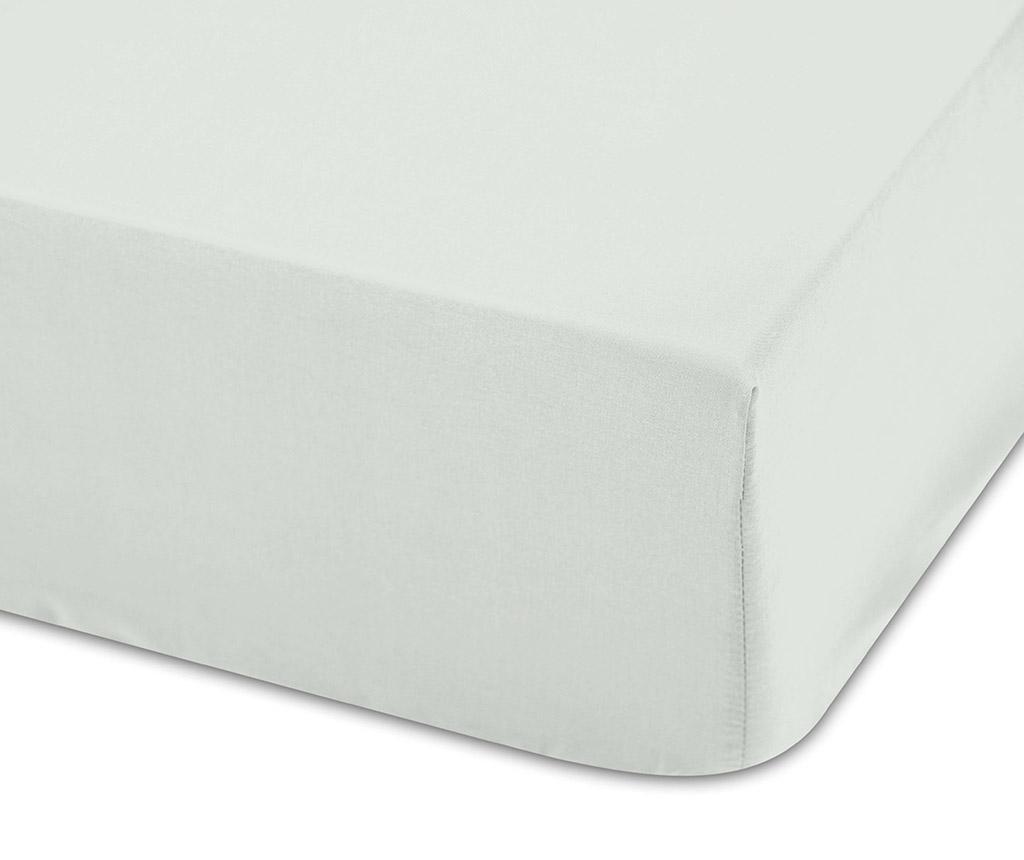 Cearsaf de patut cu elastic Lisa Natural 70x140 cm