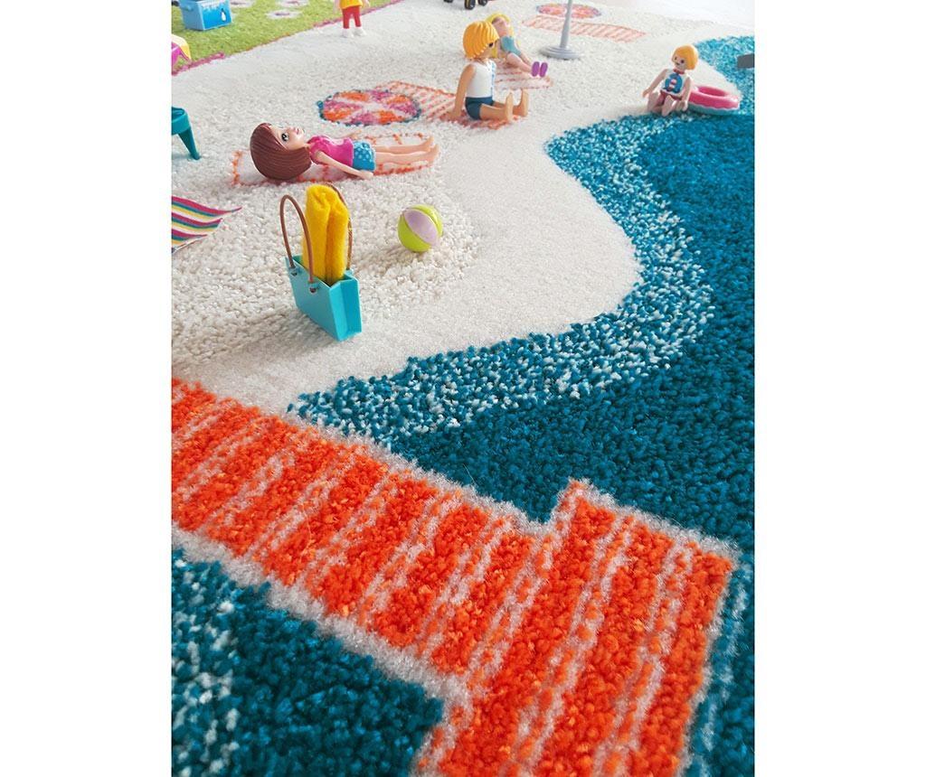 Igralna preproga Beach Houses Big 3D 134x180 cm