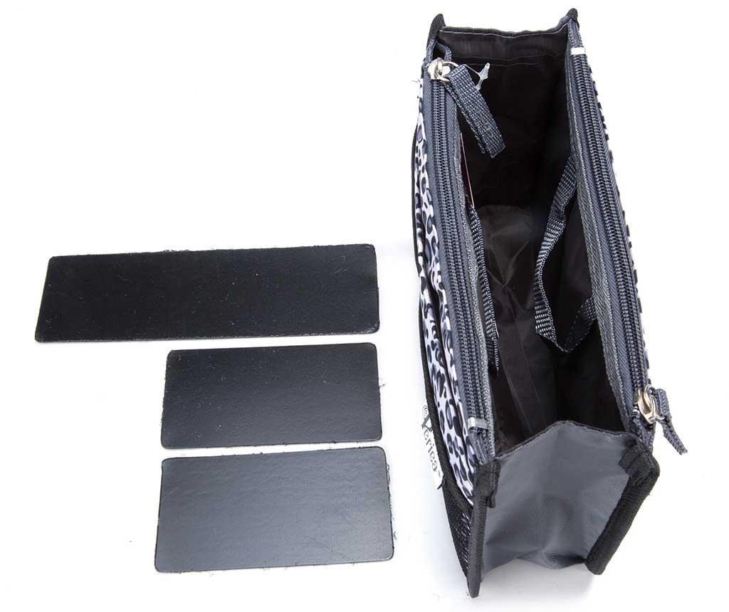 Organizér do tašky Premium Chelsy Leopard Silver S