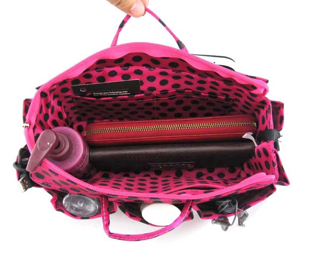 Organizator pentru geanta Lexy Pink Black