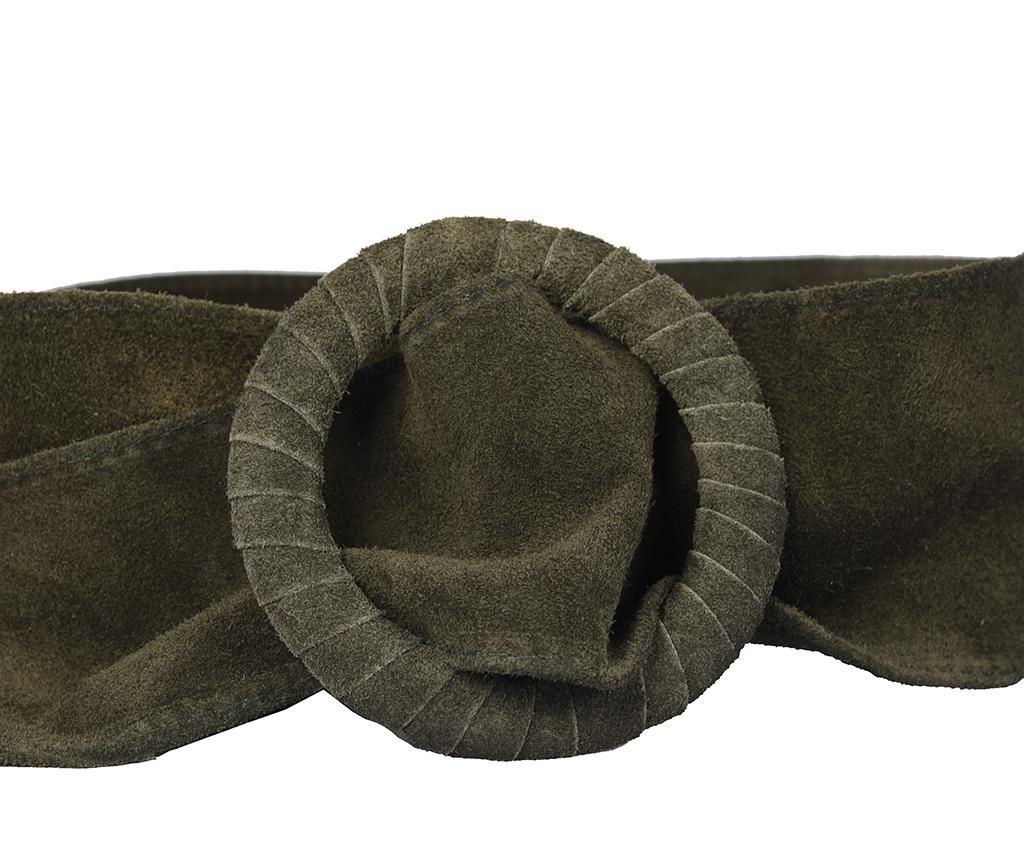 Curea tip brau Kiera Green 108 cm
