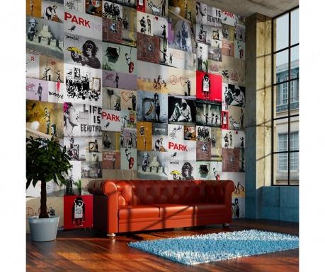 Tapeta Banksy 50x1000 cm