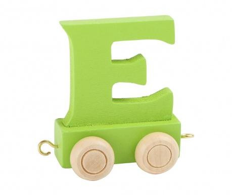 Letter E Játék vonatbetű