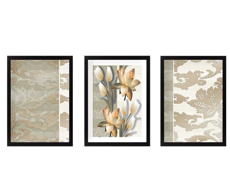 Set 3 slike Tulips 24x29 cm