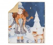 Pokrivač Winter Cat 130x160 cm