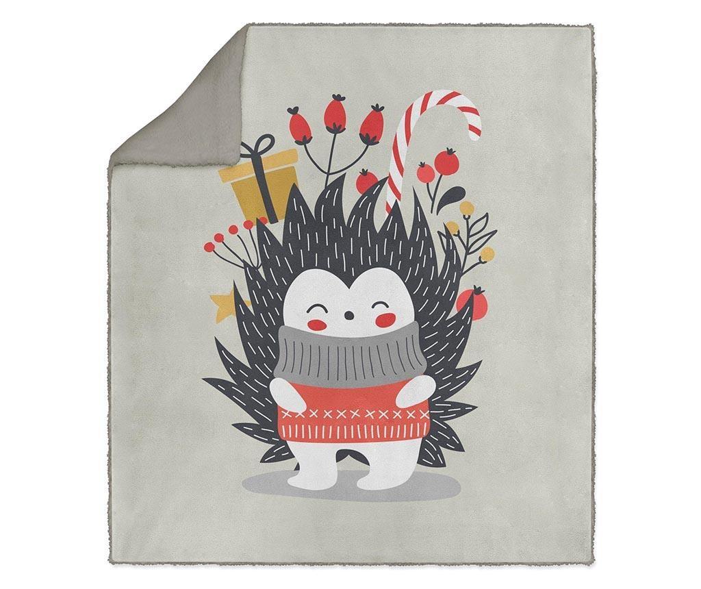 Pled Hedgehog Winter 130x160 cm