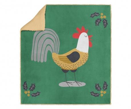 Pléd Cock-a-doodle-doo 130x160 cm