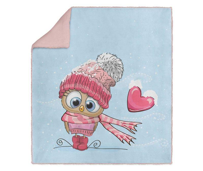 Pled Winter Love 130x160 cm