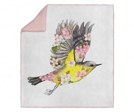 Pléd Spring Birdie 130x160 cm