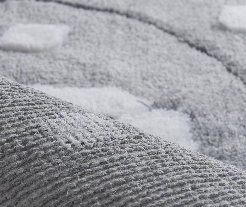Birdie Grey Fürdőszobai szőnyeg 60x100 cm