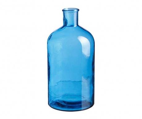 Dekorativna steklenica Bobby Blue L