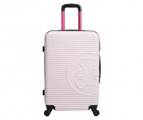 Βαλίτσα τρόλεϊ Big Bear  Pink