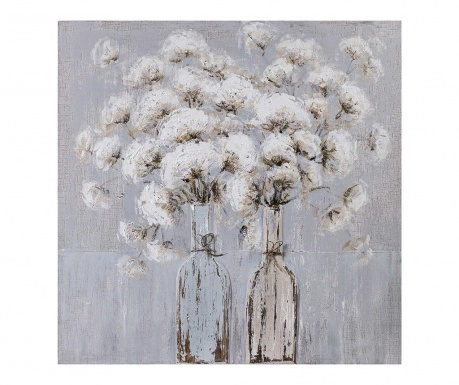 Slika Cotton Flowers 80x80 cm